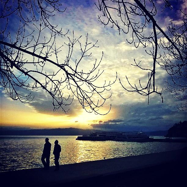 Денешното зајдисонце. #Sunset #photographyel #phototweet