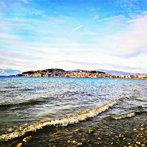Bright as day, it really is. #photographyel #ohrid
