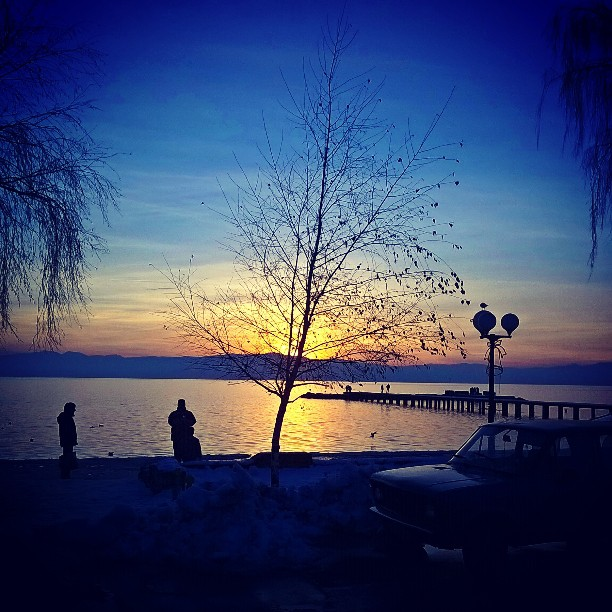 Убо. Зајдисонце. #sunset #ohrid #photographyel #phototweet