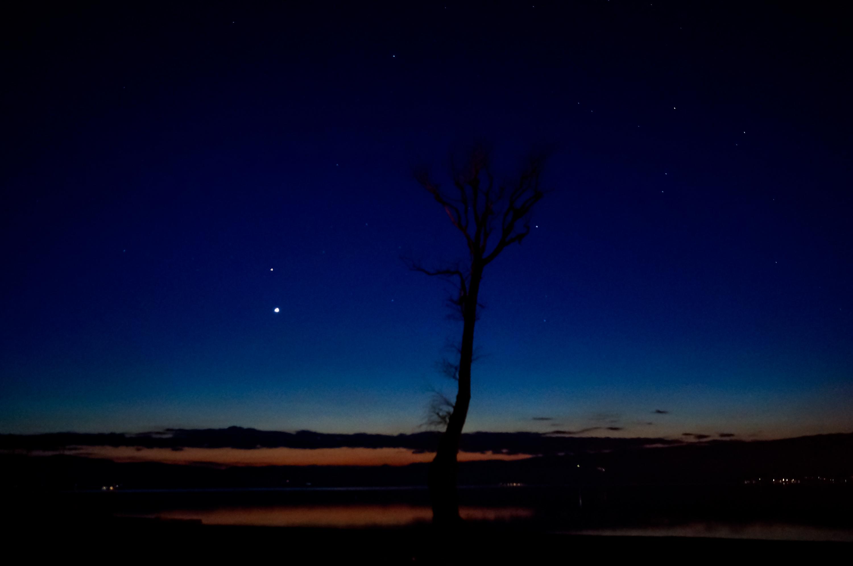 Venus and Mars together after sunset   Photographyel
