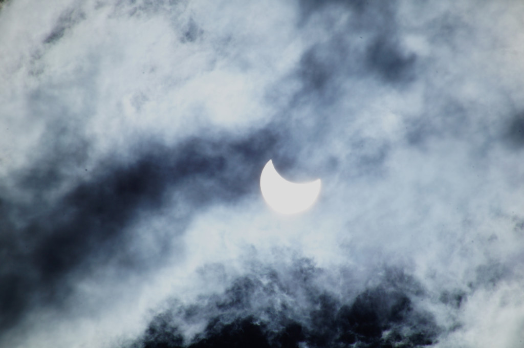 Partial solar eclipse on 20th March 2015