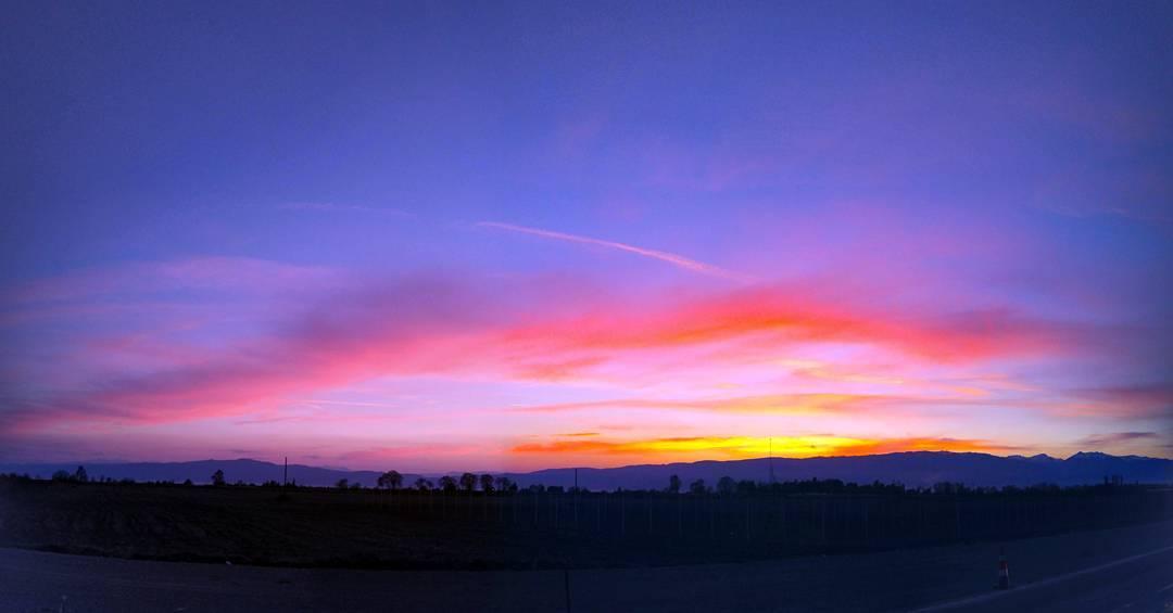 Денешното зајдисонце #sunset #landscapes #cloudscape